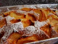 Ciasto ucierane z jabłuszkami