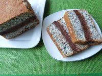 Ciasto z białek z makiem i kokosem