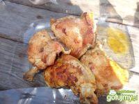 Ćwiartki kurczaka z piekarnika