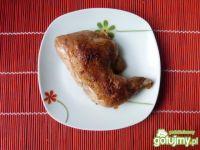 Ćwiartki z kurczaka marynowane w piwie