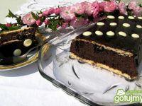 Czekoladowe ciasto gotowane