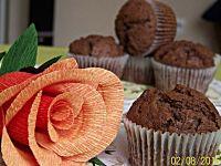 Czekoladowe muffiny z Nutellą