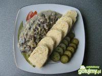 Czeski knedel w wersji wegetariańskiej