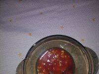 Czosnkowa pomidorowa z pęczakiem