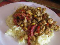 Danie obiadowe z ryżem