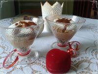 Deser idealny -mus czekoladowy z gotowaną bezą