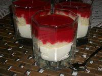 Deser z mascarpone, kaszą i truskawkami wg Zub3r'a