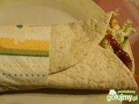 Domowy a'la rolo kebab