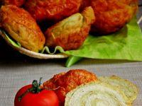 Drożdżowe ślimaki z bazyliowym pesto i mozarrellą