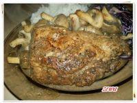 Duszone polędwiczki wieprzowe
