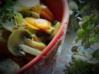Duszone warzywa - dodatek do obiadu