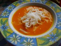 Dyniówka z makaronem ryżowym