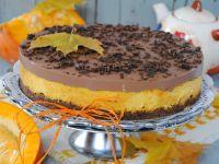 Dyniowo-czekoladowy sernik