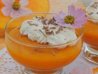 Dyniowo-pomarańczowa galaretka