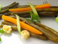 Fasolka szparagowa z miętowym masłem