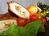 Filet nadziewany jajkiem, boczkiem i serem