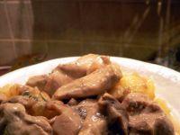 Filet z indyka w sosie borowikowym