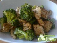 Filet z indyka z brokułami