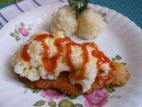 Filet z kurczaka pod kalafiorową pierzynką
