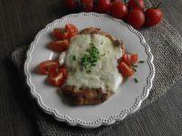 Filet z kurczaka pod serową kołderką