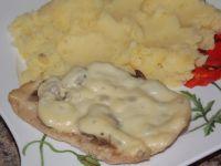 Filet z pieczarkami z piekarnika