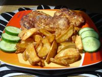 Filety z dorsza w chrupiącej parmezanowej panierce