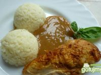 Filety z kurczaka pieczone w soli