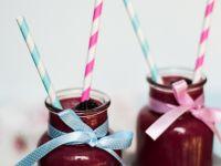 Fioletowy koktajl