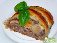 Francuska plecionka z mięsem