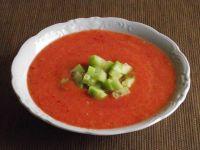 Gazpacho ze świeżych warzyw
