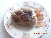 Glazurowane udka z kurczaka