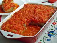 Gołąbki pieczone w pomidorach