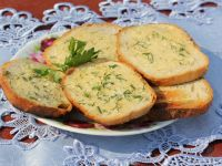 Grillowany chlebek