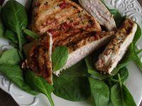 Grillowany filet z indyka w pomidorach - na ostro
