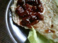 Grillowany schab w sosie śliwkowym
