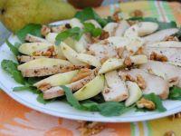 Gruszka z filetem- czyli jesienna sałatka