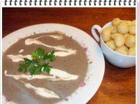 Grzybowo-ziemniaczana zupa krem Eli