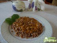 Gulasz z żołądków drobiowych wg Megg
