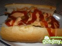 Hot-dog wg Mychy