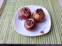 Jabłka zapiekane z rodzynkami