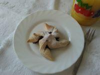 Jagodowe wiatraczki z ciasta francuskiego