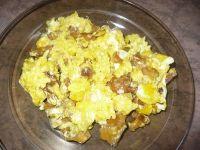 Jajecznica na kurkach