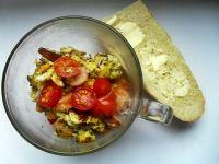 Jajecznica z pomidorkami