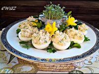 Jajka koperkowo - pietruszkowe