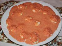 Jajka w paprykowym sosie