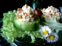 Jarzynowa pasta/sałatka  z makrelą