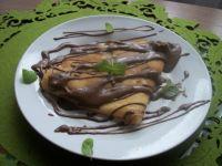 Jogurtowąo-cytrynowe naleśniki z czekoladą