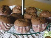 Kakaowe babeczki z rafaello