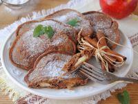Kakaowe placuszki z jabłkami