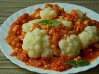 Kalafior w sosie pomidorowym